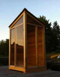 Great North solar sauna